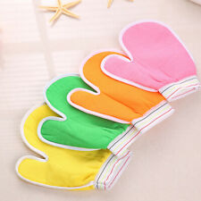 Bath Scrub Glove Shower Body Exfoliating Cloth Sponge Puff Random Delivery VvV