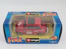 BBURAGO BURAGO 1/43 STREET FIRE FIAT 500 SPORT ROSSO RED N.308 NIB [PH3-14]
