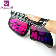 KADS 100pcs Nail Art Tips Extension Forms Stickers Manicure Sculpting Tool