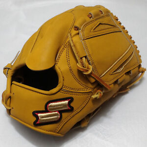 """SSK Divine Wind TAN DWG663P-45 12"""" Pitcher Right-Handed Thrower Baseball Glove"""