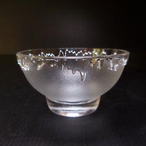 8 bols coupes dessert apéritif verre cristal Arc art déco table France N7646
