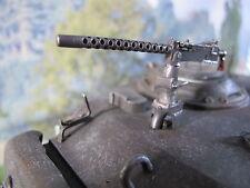 WWII US Sherman Torre MG cal 30mm RC Carro armato Tank US Army METAL KIT ACCESSORI 1/16