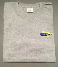 Vintage New Unworn Camel Cigarette Stitched  Short SleevE Shirt Gray XL 1990's