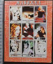 2005 madonna pops rock music movies cinema women m/sheet Mnh