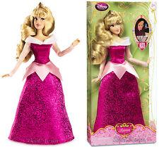 "NEW 2013 Disney Store SLEEPING BEAUTY Princess AURORA 12"" Classic doll Pink Gown"