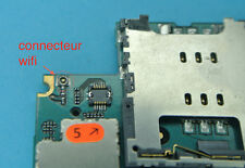 Wifi connector repair 6 iphone 3gs 3g weld repair card mother motherboard