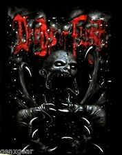 DEEDS OF FLESH cd lgo DARKNESS TO MADNESS Official SHIRT MED portals to canaan