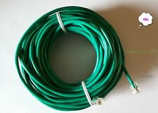 50ft. RJ11 RJ12 CAT5e Green DSL Telephone Data Cable
