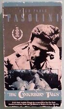pier paolo pasolini  THE CANTERBURY TALES   VHS VIDEOTAPE