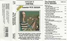 """PETE SEEGER  """"THE ESSENTIAL PETE SEEGER""""  CASSETTE"""