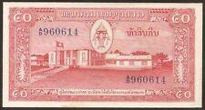 LAOS  50 Kip 1957 AU P 5 b