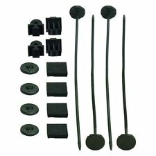 Derale 16744 Electric Fan Mounting Kit with Plastic Rods Clips and Mounting Feet