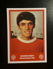 MANCHESTER UNITED - GEORGE BEST TYPE2 RETRO CHRISTMAS 'FOOTBALL CARD' /GIFT TAG