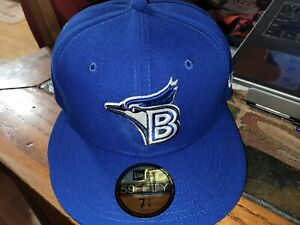 Bluefield Blue Jays MiLB New Era Diamond 59Fifty GAME Cap Hat Size 7 1/4 Toronto