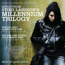 Music From Stieg Larsson's Millenium Trilogy O.S.T. Soundtrack Colonna Sonora CD