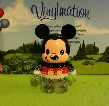 "DISNEY Vinylmation 3"" Park Set 1 25th Anniversary Glitter Mickey Mouse"
