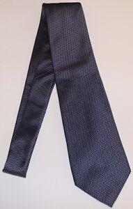 Michael Kors Tie Mens 100% Silk Blue Grey Shine Elegant Very High Quality