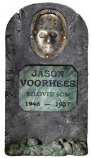 Friday The 13th Jason Voorhees 3' Life Size Tombstone Party Outdoor Lawn