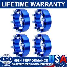 4Pc 2'' 8 Lug Wheel Spacers Adapters 8x6.5 For Chevy Silverado C/K 2500/3500 GMC
