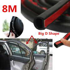 Big D Shape Car Door Window Trim Edge Moulding Rubber Weatherstrip Seal Strip 8M