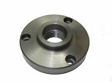 RDGTOOLS 100MM LATHE CHUCK BACKPLATE THREADED 33MM X 3.5MM WOOD LATHE TURNING