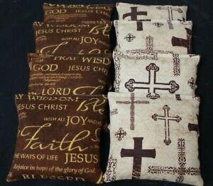 RELIGION OF FAITH THE JESUS CROSS  8  ACA Regulation Cornhole Bean Bags