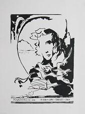 """Lithography Lithographie Litografia BECONI Serafino Fiera del Libro """"Manzoni"""""""