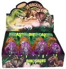 4 Jarassic World Play 3D Snap Together Dinosuar Toy Eggs asst dinosuars & colors