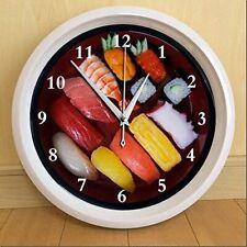 New Sushi Wall Clock (interesting watch)