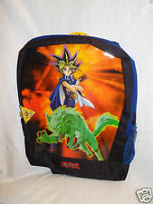 "New With Tags 1996 Vintage Yu-Gi-Oh Blue Backpack 11"" X 15"""