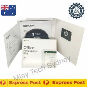 Microsoft Office 2019 Professional Plus for Windows DVD + Key Free Express post