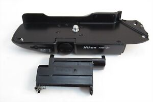 【EXC+++】Nikon MB-21 Battery Pack Bottom Portion w/ BS-21 for Nikon F4S #32145