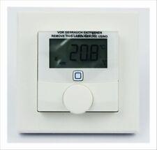 Homematic IP Wandthermostat mit Luftfeuchtigkeitssensor WTH-2 fuer Smart Home /