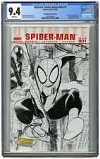 Ultimate Spider-Man #1E, Vol 2, CGC 9.4 Pittsburgh Comicon Variant FREE SHIPPING