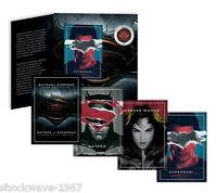 2016 Batman V Superman Lenticular Coin Complete Set with Wonder Woman