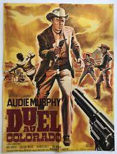 Affiche de cinéma de 1964, film DUEL AU COLORADO, A.Murphy, poster 57x77