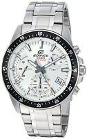 Casio Men's Edifice Chronograph Stainless Steel Quartz Watch EFV-540D-7AV