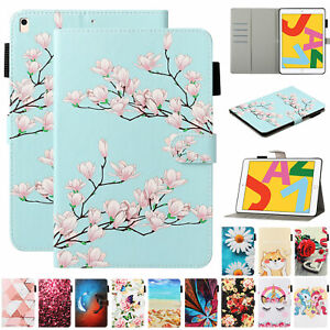"For iPad 10.2"" 7th 8th Generation mini 12345 Magnetic Leather Smart Case Cover"