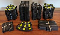 ARTIN 1/43 Slot Car Racing Track Lot -- over 100 track pieces and 48ft of track