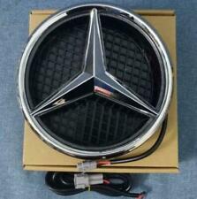 Illuminated LED Light Front Grill Star Emblem Fit Mercedes Benz 2014-2017 Twist