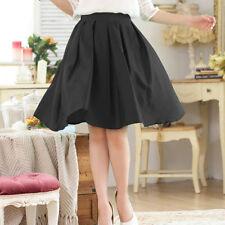 Chiffon Pleated, Kilt Casual Plus Size Skirts for Women