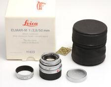 Leica Elmar-M 2,8/50 mm silbern verchromt #3701973