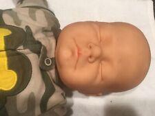Berjusa Baby Boy Sleeping Doll 20.5 Inches Long Super Cute Baby Boy Doll.