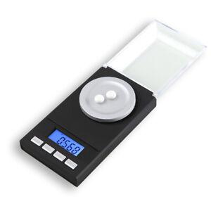 Tragbare Tasche Digital Milligramm 0,001 g x 50 g Waage für Schmuckküche