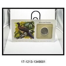 Bird Coins of The World Trinidad $1 (Rufous-Vented Chachalaca)