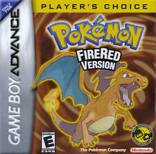 POKEMON FIRE RED GBA GAMEBOY ADVANCE DS FREE 1ST CLASS DELIVERY UK SELLER
