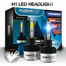 2X Nighteye H1 LED Car Headlight Kit Light Lamp 9000LM 72W Fog Bulbs Beam White