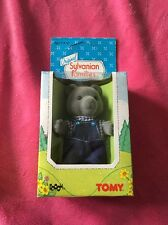 💖Sylvanian Families 1985 Forrest Evergreen Dad Grey Bear Brand New In Box!!💖