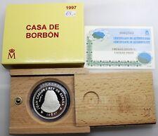 3ª CENTENARIO DE LA CASA BORBÓN  1997 Felipe V 2000 PESETAS PROOF FDC