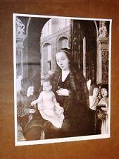 Museo di Palermo nel 1920 Madonna col Bambino Scuola Fiamminga